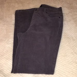 "Brown Corduroy Pants Talbots Sz 8 31"" x 31"""